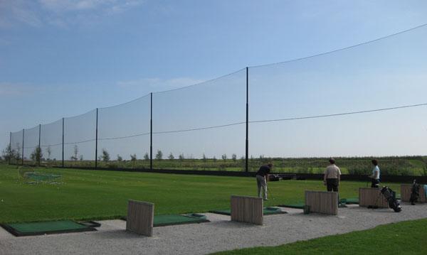 Photo Gallery Poles And Netting Driving Range Ellax Golf